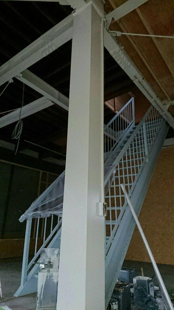 坂戸市で店舗の内部を塗り替えた後の写真